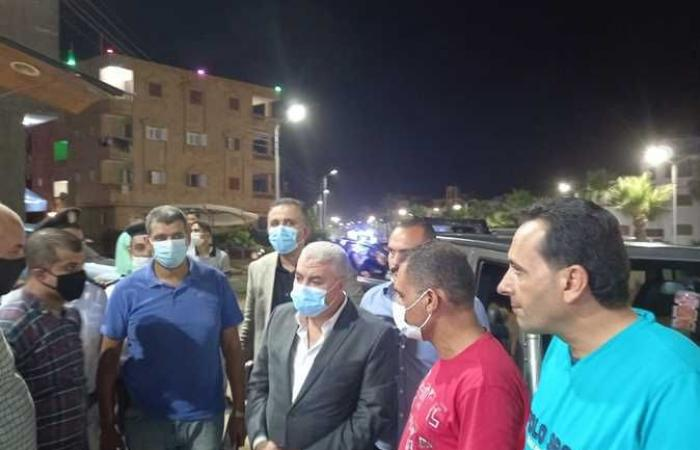 محافظ كفر الشيخ يشدد على توفير احتياجات المصطافين بمصيف بلطيم