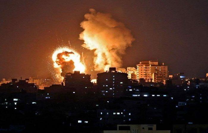 الطائرات الإسرائيلية تستهدف مواقع عدة في قطاع غزة