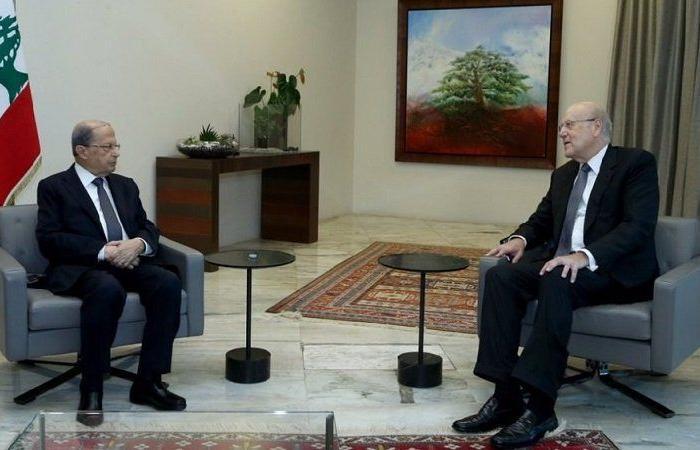 """حزب """"عون"""" عارض تكليف """"ميقاتي"""" بتشكيل الحكومة اللبنانية"""