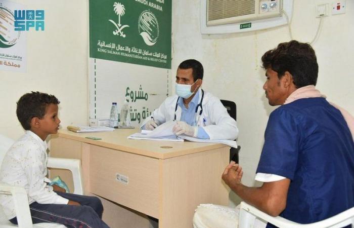 بدعم سعودي.. خدمات صحية لـ1.619 مستفيداً بحجة اليمنية خلال أسبوع