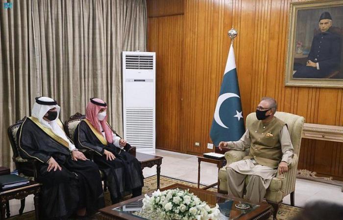 بالصور.. الرئيس الباكستاني يستقبل وزير الخارجية ويستعرض العلاقات الثنائية