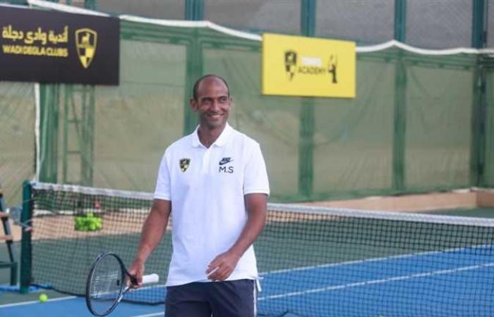 لاعب التنس محمد صفوت يواصل تدريباته في طوكيو رغم الخروج