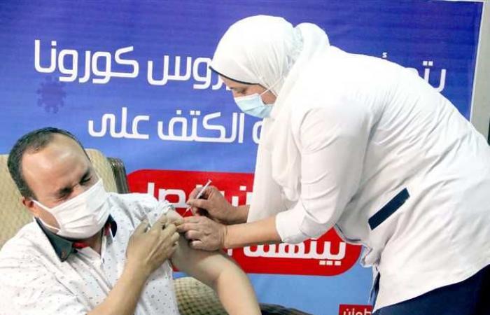 تطعيم 8555 مواطنًا بلقاح فيروس كورونا في شمال سيناء