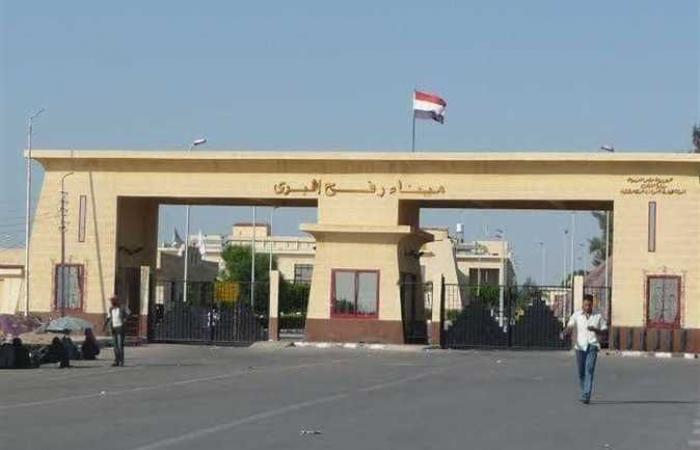 تواصل فتح معبر رفح البري في شمال سيناء