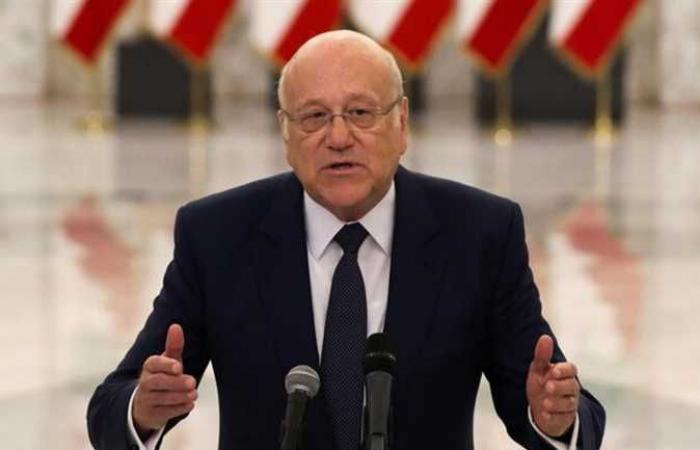 ميقاتي يستبعد تشكيل الحكومة اللبنانية قبل 4 أغسطس المقبل