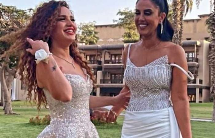 رنا رئيس تحتفل بزفاف شقيقتها (صور)