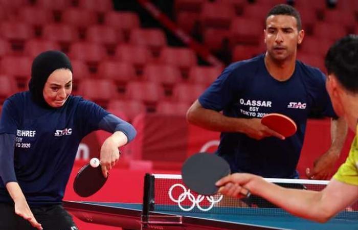 أولمبياد طوكيو 2020.. غدًا منافسات تنس الطاولة للفرق أمام الصين ورومانيا