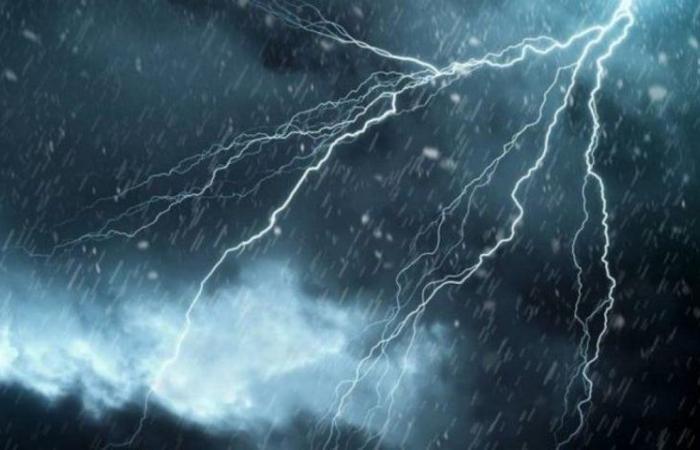 """""""الأرصاد"""": حالة أمطار رعدية على نجران"""
