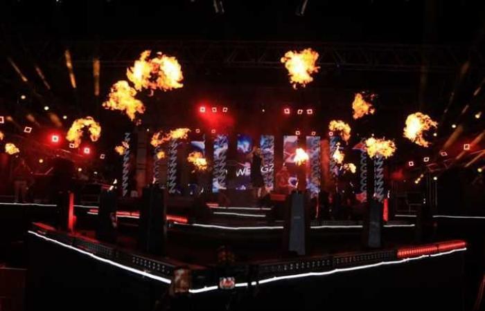 «ويجز» يشعل حفل العلمين الجديدة بمشاركة «عفروتو» و «باتيستوتا» (صور)