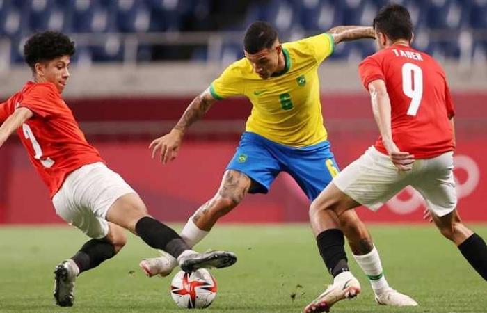 منتخب مصر الأولمبي يودع أولمبياد طوكيو 2020 أمام البرازيل بهدف نظيف