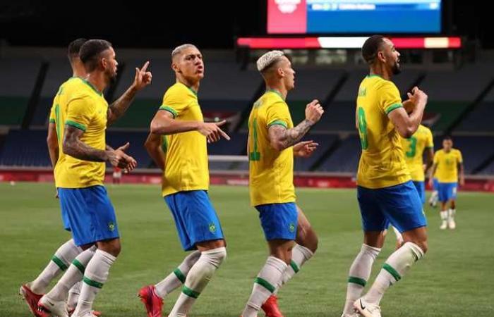 بث مباشر .. موعد مباراة البرازيل ضد المكسيك في نصف نهائي أولمبياد طوكيو 2020 والقنوات الناقلة