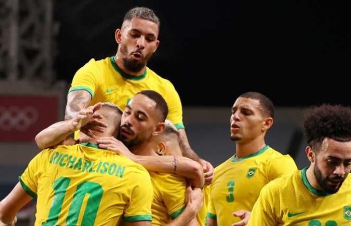 مباراة البرازيل مباشر الآن ضد المكسيك في نصف نهائي أولمبياد طوكيو 2020