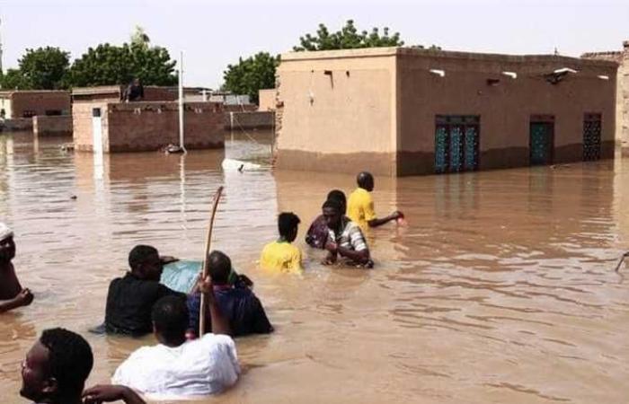 الأرصاد الجوية المصرية: فيضانات عارمة فى السودان وأمطار بجنوب مصر