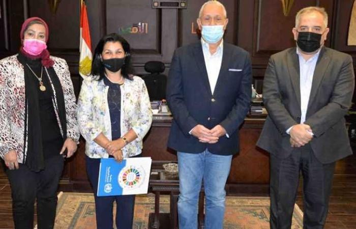 محافظ الأقصر يستقبل ممثل منظمة الصحة العالمية فى مصر
