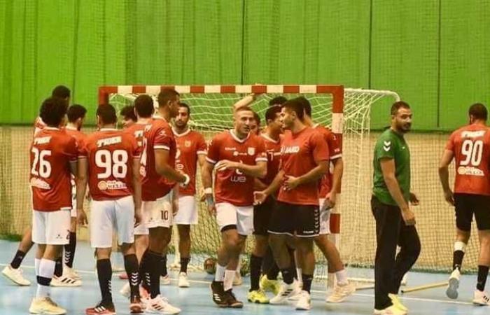 الأهلي يواجه «رد ستار» في بطولة أفريقيا لكرة اليد بالمغرب