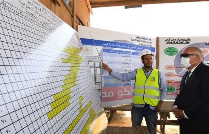 محافظ قنا يتفقد مشروع مجمع الخدمات الحكوميه بقرية الكلالسة ضمن مبادرة حياة كريمة