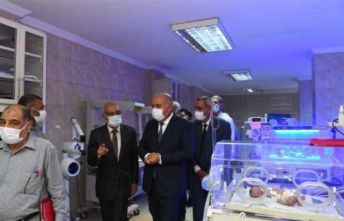 محافظ قنا يتفقد قسميّ الغسيل الكلوي والأطفال المبتسرين بمستشفى الجمعية الشرعية بقوص