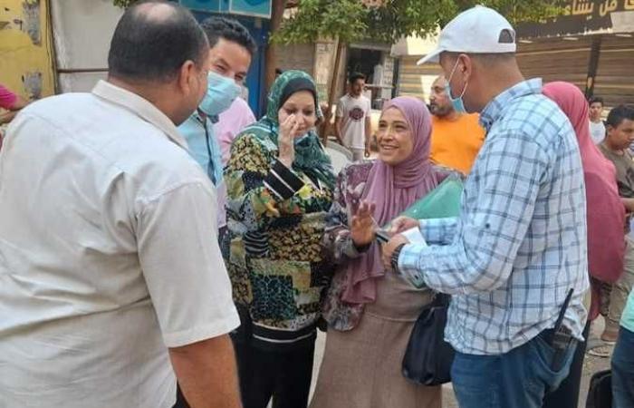 تحرير 76 محضر سلع فاسدة وصحة بشبرا الخيمة (صور)