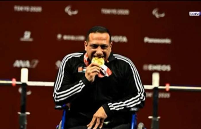 الأردني عمر قرادة يحرز أول ميدالية ذهبية للعرب في بارالمبية طوكيو