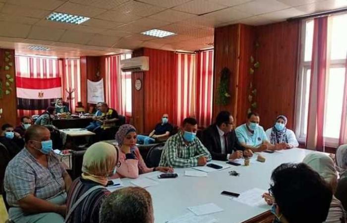 توعية الأطباء بمحافظة كفر الشيخ بأهمية تطبيق معايير مكافحة العدوي