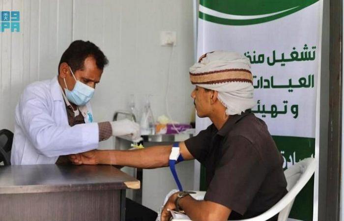 """900 مستفيد من خدمات عيادات """"إغاثي الملك سلمان"""" في وعلان حجة خلال أغسطس"""