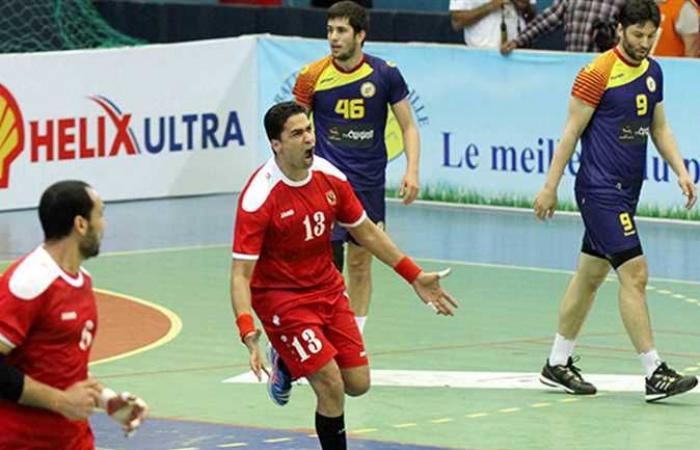 الأهلي يفوز على 6 أكتوبر بنتيجة 43-32 فى دوري اليد للمحترفين