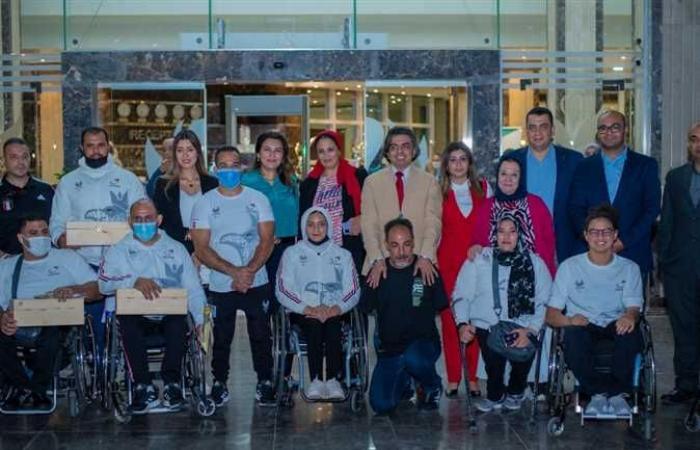احتفالية لتكريم أبطال «البارالمبية» المشاركين في دورة طوكيو2021