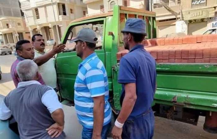 رئيس مدينة الحامول يتابع حملات النظافة والتجميل والإشغالات