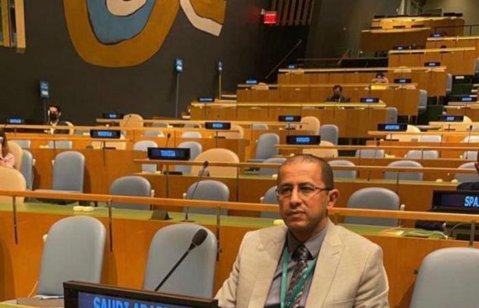 """نائب مندوب المملكة الأممي ينقل """"تجربة السعودية في دعم النازحين"""" للعالم"""