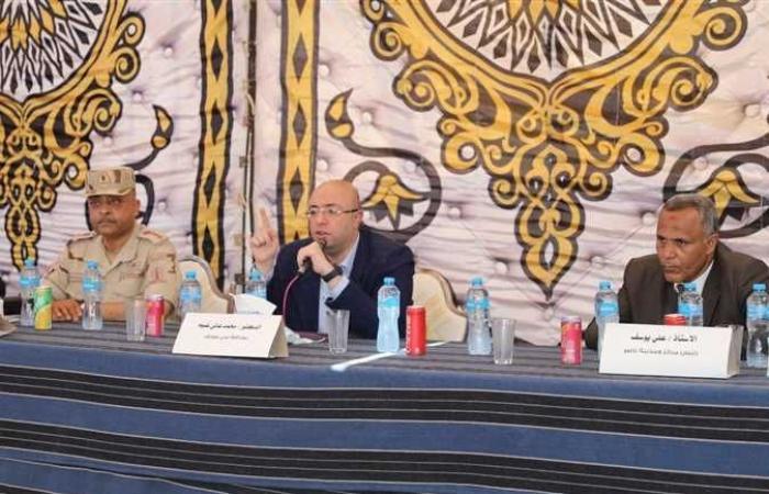 محافظ بني سويف يناشد المواطنين تسجيل بياناتهم بحملة «معًا نطمئن»