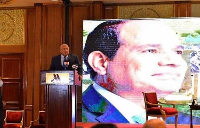 محافظ الوادي الجديد يشارك بمؤتمر الصعيد أرض الفرص