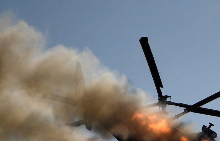 ليبيا.. تحطم مروحيتين أثناء تدريبات لقوات الجيش ومصرع طاقم إحداهما