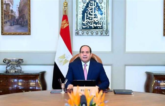 السيسي يفتتح نفق الشهيد أحمد حمدي ٢ وعدد من المشروعات القومية بالسويس