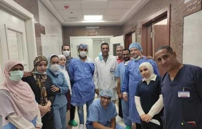 تشغيل مستشفي طب وجراحة العيون بالمجمع الطبي الدولي بالأقصر