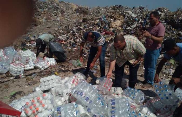 قبل بيعها للمواطنين.. التحفظ على 3.5 ألف لتر مياه غير مطابقة للمواصفات بالإسكندرية