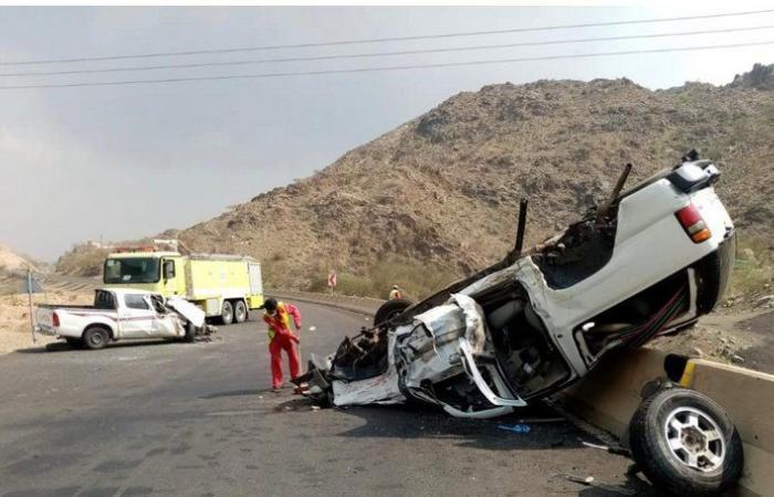 المخواة.. حادث تصادم يسفر عن تسجيل إصابات بين متوسطة وخطيرة