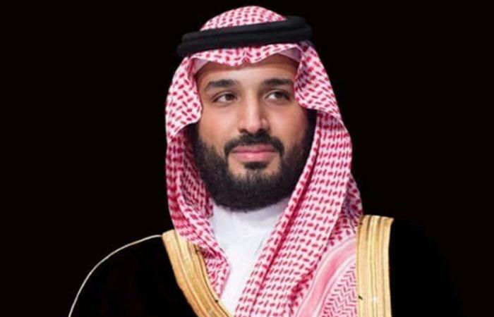 ولي العهد يتلقى برقية تهنئة من وزير الدفاع الكويتي بمناسبة اليوم الوطني