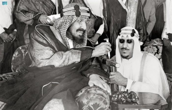 نواة أول قطار في المملكة.. وضعها الملك المؤسّس قبل 74 عاماً