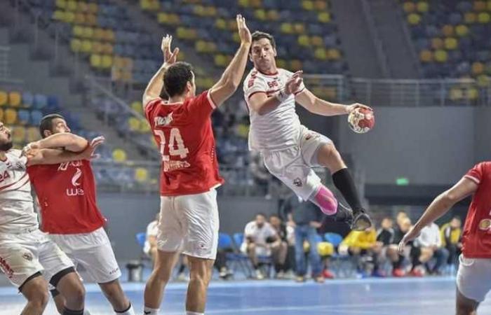 موعد مباراة الأهلي ضد الزمالك اليوم الخميس في قمة دوري كرة اليد