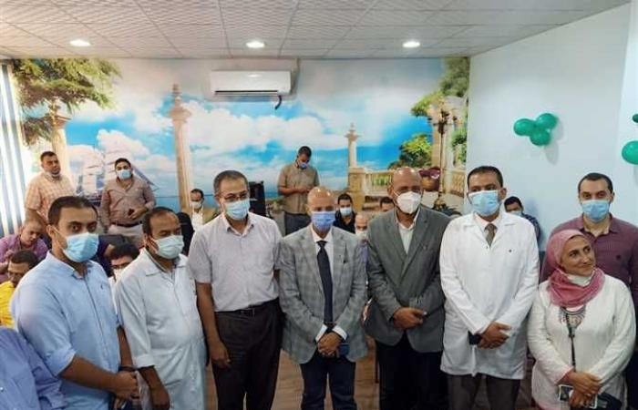وكيل صحة الشرقية يفتتح قاعة تدريب بالصالحية ويشهد اليوم العلمي الأول لطب الأطفال