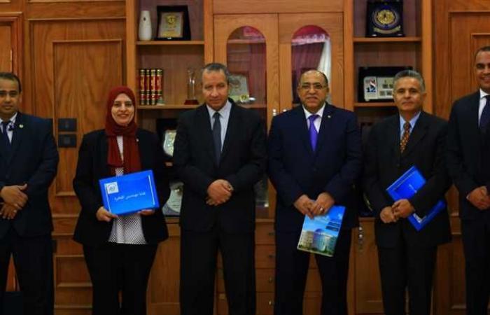 بروتوكول تعاون بين جامعة السويس ونقابة المهندسين بالقاهرة