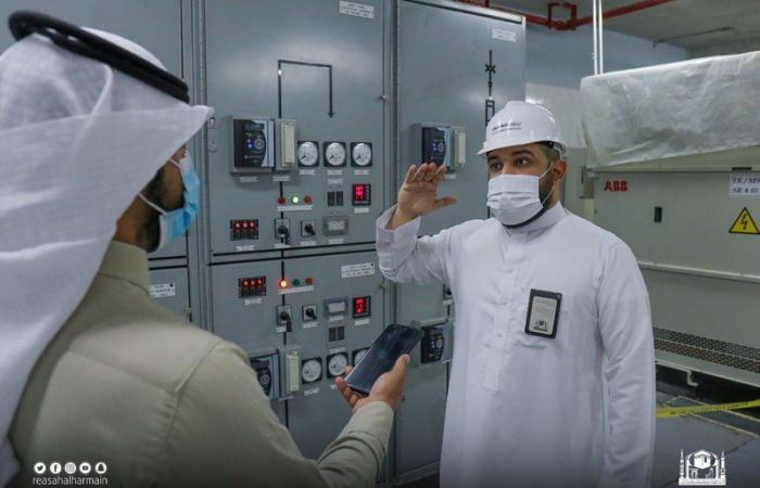 """""""شبكة موثوقة"""" على مدار الساعة.. 24 محطة كهرباء ومغذٍ لخدمة الحرم"""