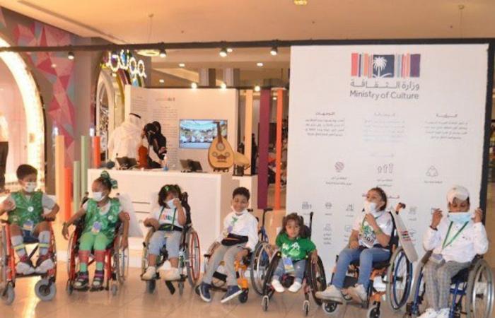 """جدة.. """"جمعية الأطفال ذوي الإعاقة"""" تنظم مسيرة حب بمناسبة اليوم الوطني 91"""