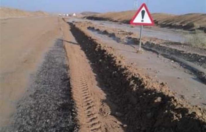 معاينة وتطهير البحيرات الصناعية والبرابخ وحواجز التوجية بطريق غارب - الشيخ فضل