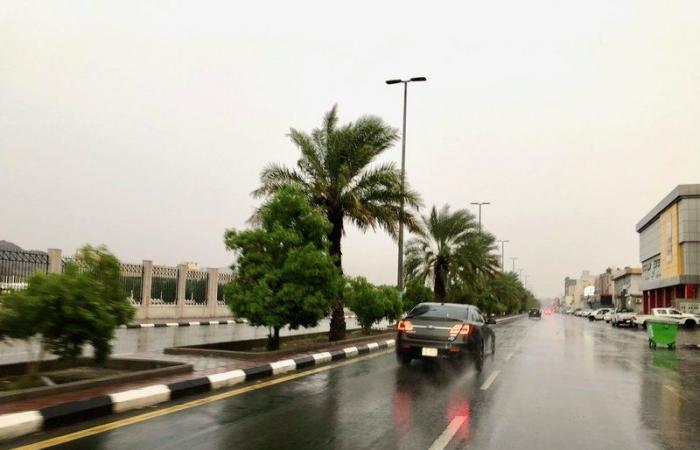 الوطني للأرصاد ينبه من أمطار رعدية على عدد من محافظات مكة المكرمة
