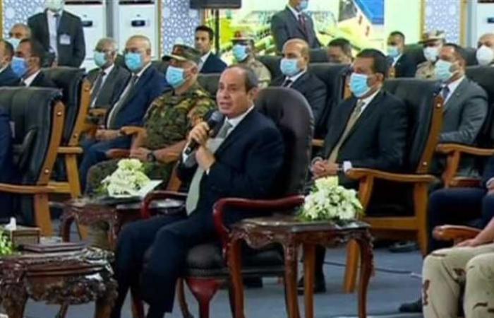 السيسي: «الإرهاب في سيناء يستهدف إيقاف عملية البناء»