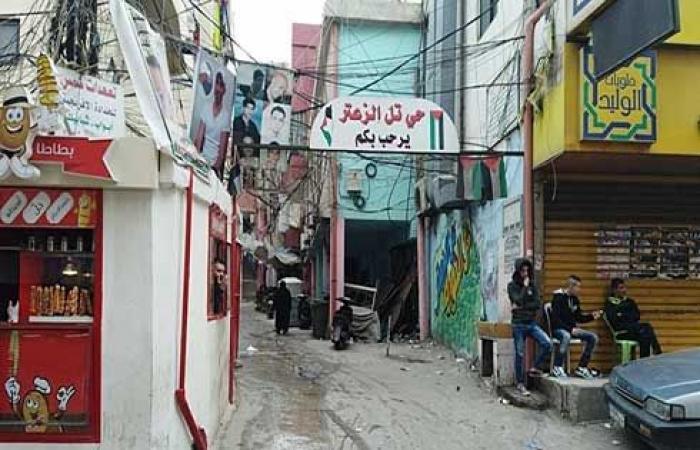 قتيل وجرحى باشتباكات بمخيم فلسطيني في لبنان