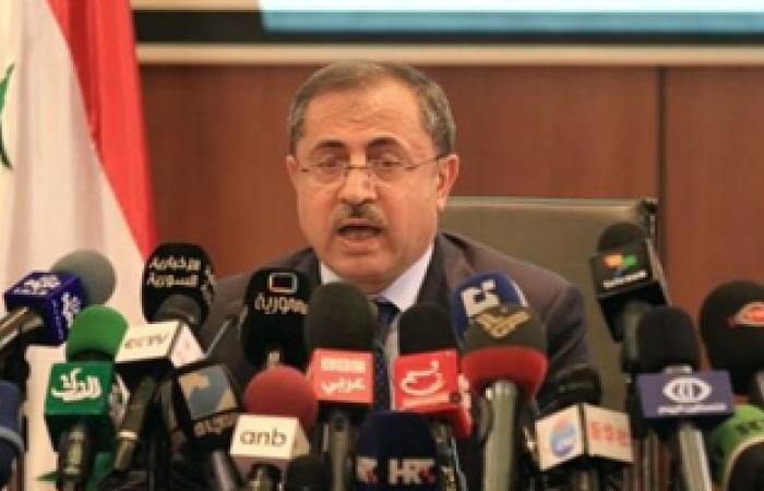 وزير سورى: ما تقوم به المجموعات المسلحة يأتى فى سياق مخطط لخدمة أمريكا