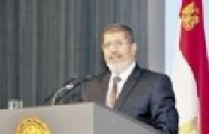 مرسي يستقبل رئيس الوزراء القطري.. ويبحثان الأزمة السورية