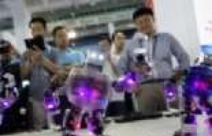 بالصور| إقبال على المعرض الدولي الصيني للتكنولوجيا في بكين